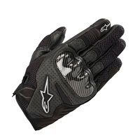 Alpinestars Stella SMX-1 Air v2 Motorcycle Gloves (Black)