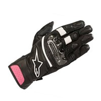 Alpinestars Stella SP-2 v2 Motorcycle Gloves (Black/Fuchsia)