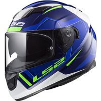 LS2 Stream FF320 Evo Axis Helmet (Blue|White)
