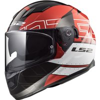 LS2 Stream FF320 Evo Kub Helmet (Red|Black)
