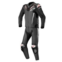 Alpinestars ATEM v3 Two Piece Leathers (Black/White)