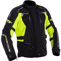 Richa Infinity 2 Ladies Textile Motorcycle Jacket (Black|Yellow)
