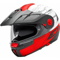 Schuberth E1 Flip Front Motorcycle Helmet (Crossfire Red)