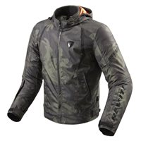 Revit Motorcycle Jacket Flare (Army Green)
