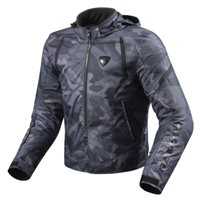 Revit Motorcycle Jacket Flare (Black)