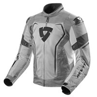 Revit Motorcycle Jacket Vertex Air (Light Grey|Black)