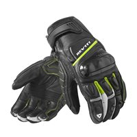 Revit Motorcycle Gloves Chicane (Black|Neon Yellow)