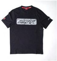 RST T-Shirt SpeedBloc 0099 (Black|Silver)