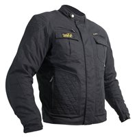 RST Classic TT Short Textile Wax Jacket 2088 (Black)