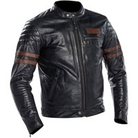Richa Curtiss Leather Jacket (Petrol | Brown)