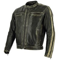 Richa Goodwood Leather Motorcycle Jacket (Brown)