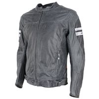 Richa Hawker Leather Jacket (Grey)