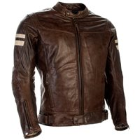 Richa Hawker Leather Motorcycle Jacket (Cognac)