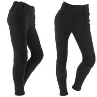 Richa Kodi Ladies Leggings -Long Leg (Black)
