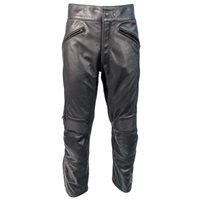 Richa Cafe Leather Trousers (Black)