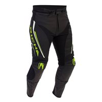 Richa Monza Leather Trousers (Black|Fluo Green)