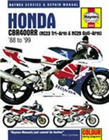 Haynes  Manual 3552 Honda CBR400RR