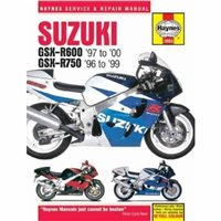 Haynes  Manual 3553 Suzuki GSX-R600 & 750 FOURS 96-99