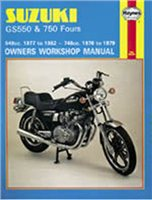Haynes  Manual 363 SUZ GS750/550 FOURS