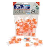 Oxford Ear Plugs SNR 33 - Value Pack (30 Pairs)