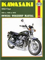 Haynes  Manual 373 KAW 650 FOURS