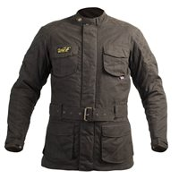 RST Classic Isle Of Man TT 3/4 CE Wax Jacket 2087 (Green)