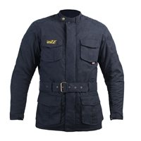 RST Classic Isle Of Man TT 3/4 CE Wax Jacket 2087 (Navy)