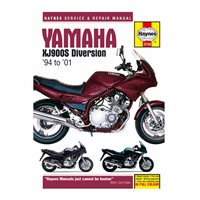 Haynes  Manual 3739 YAM XJ900S DIVERSION