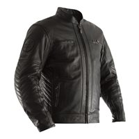 RST Classic TT Retro II CE Leather Jacket 2834 (Black)