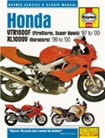 Haynes  Manual 3744 HON VTR1000 FIRESTORM & XL1000V