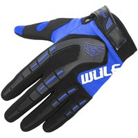 Wulfsport Attack Cub Motocross Gloves (Blue)