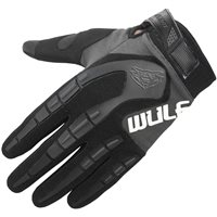 Wulfsport Attack Cub Motocross Gloves (Grey)