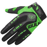Wulfsport Attack Cub Motocross Gloves (Green)