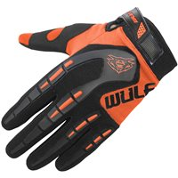 Wulfsport Attack Cub Motocross Gloves (Orange)