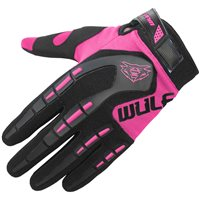 Wulfsport Attack Cub Motocross Gloves (Pink)