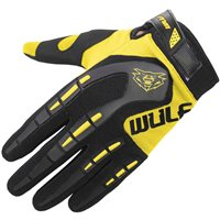 Wulfsport Attack Cub Motocross Gloves (Yellow)