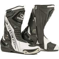 Richa Blade Waterproof Motorcycle Boots (Black/White)