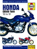 Haynes  Manual 3753 HON CB500 TWIN 93-01