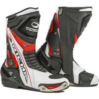 Richa Blade Waterproof Motorcycle Boots (Black/White/Red)