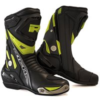 Richa Blade Motorcycle Boots (Black|Fluo Yellow)