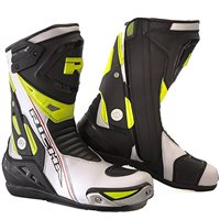 Richa Blade Motorcycle Boots (White|Black|Fluo Yellow)