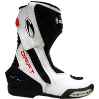 Richa Drift Motorcycle Boots (Black/White)