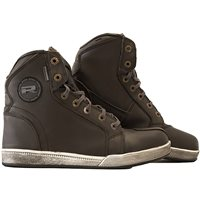 RST Isle Of Man IOM TT Crosby Leather Motorcycle Boots Brown