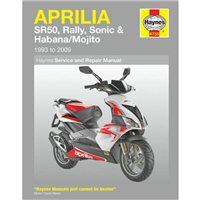 Haynes  Manual 4298 Aprillia RS50 (99-06) RS125 (93-06)