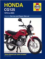 Haynes  Manual 433 HON CG125 76-07