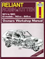 Haynes  Manual 436 RELIANT ROBIN & KitTEN
