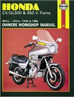 Haynes  Manual 442 HON CX500 V-TWIN