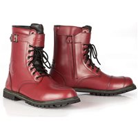 Spada Pilgrim Grande CE WP Motorcycle Boots (Cherry Red)