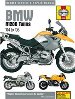 Haynes  Manual 4598 BMW R1200 04-09