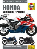 Haynes  Manual 4604 Honda CBR1000RR 04-07